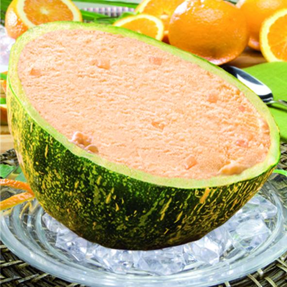 Mekabe desserten op maat gevulde meloen - Comment faire murir un melon ...
